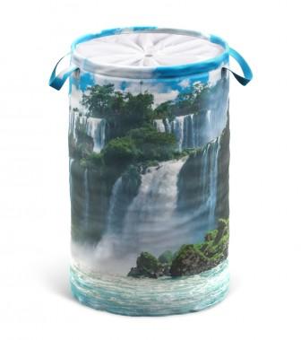 Wäschekorb Wasserfall