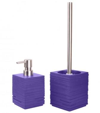 Badezimmer Set Calero Purple
