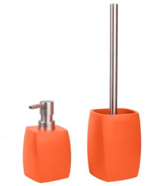Badezimmer Set Wave Orange