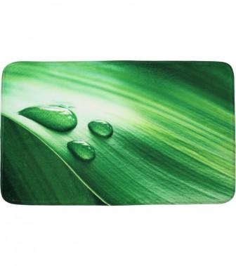 Badteppich Green Leaf 50 x 80 cm