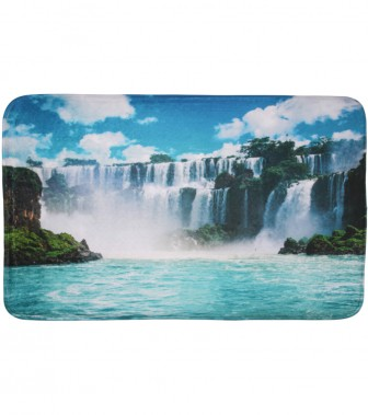 Badteppich Wasserfall 70 x 110 cm