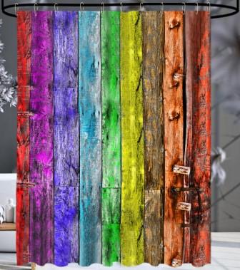 Duschvorhang Rainbow 180 x 200 cm