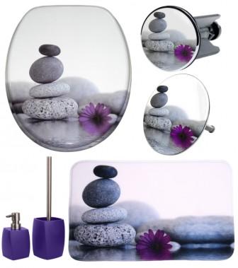6-teiliges Badezimmer Set Energy Stones