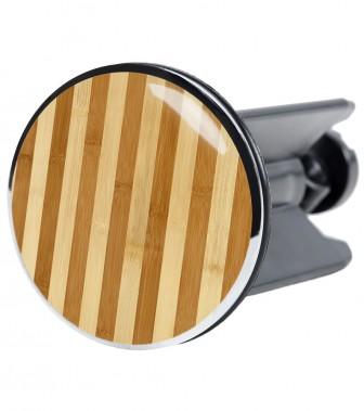 Stöpsel Bambus gestreift