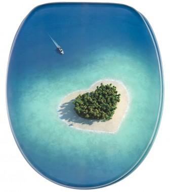 WC-Sitz mit Absenkautomatik Dream Island