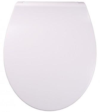 WC-Sitz mit Absenkautomatik Flat Weiß