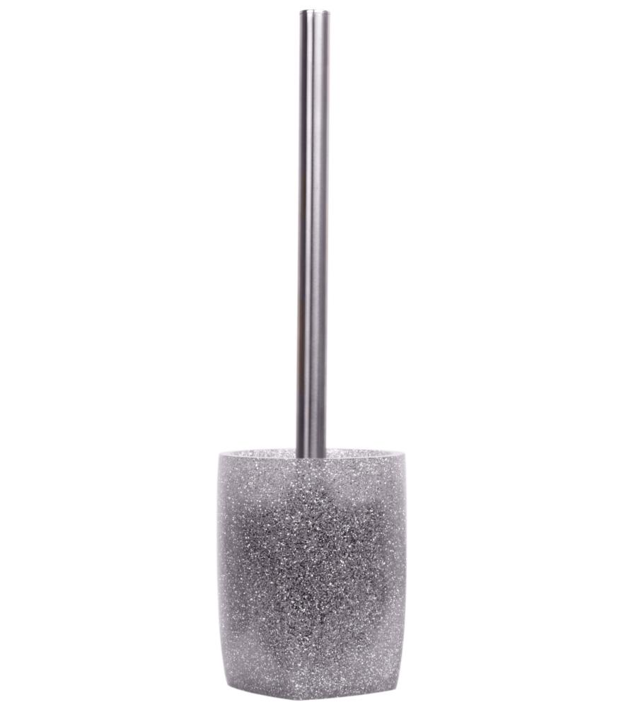 Exceptional Badezimmer Set Glitzer Silber