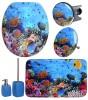 6-teiliges Badezimmer Set Ocean