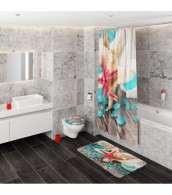 Duschvorhang Bath Salt 180 x 200 cm