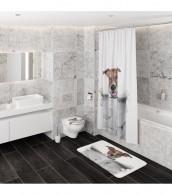 3-teiliges Badezimmer Set Newspaper