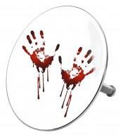Badestöpsel Blood Hands