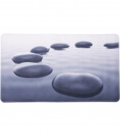 Badematte Black Stones 40 x 70 cm