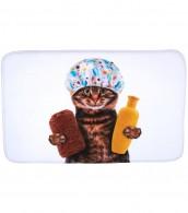 Badteppich Shower Cat 70 x 110 cm