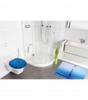 6-teiliges Badezimmer Set Wassertropfen