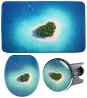 3-teiliges Badezimmer Set Dream Island