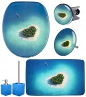 6-teiliges Badezimmer Set Dream Island