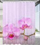 Duschvorhang Blooming 180 x 200 cm