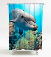 Duschvorhang Delphine 180 x 180 cm