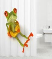 Duschvorhang Froggy 180 x 180 cm