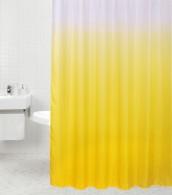 Duschvorhang Magic Gelb 180 x 180 cm