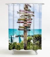 Duschvorhang Key West 180 x 180 cm