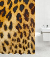 Duschvorhang Leopardenfell 180 x 200 cm