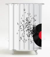 Duschvorhang Play Music 180 x 180 cm