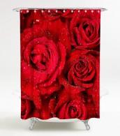 Duschvorhang Rosen 180 x 180 cm