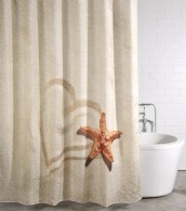 Duschvorhang Sandy 180 x 180 cm