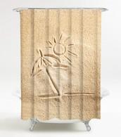 Duschvorhang Sunshine 180 x 200 cm