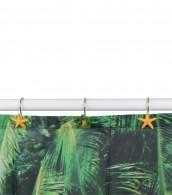 Duschvorhangringe Karibik