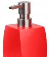 Badezimmer Set Wave Red