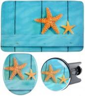 3-teiliges Badezimmer Set Starfish