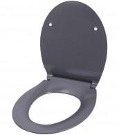 WC-Sitz mit Absenkautomatik Flat Grau