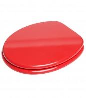 WC-Sitz mit Absenkautomatik Rot
