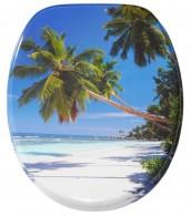 WC-Sitz mit Absenkautomatik Karibik