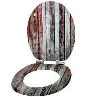 WC-Sitz mit Absenkautomatik Antik