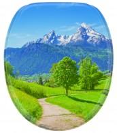 WC-Sitz mit Absenkautomatik Alpen