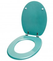 WC-Sitz Glitzer Türkis
