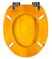 WC-Sitz mit Absenkautomatik Holz