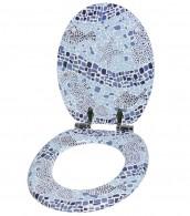 WC-Sitz mit Absenkautomatik Mosaic World