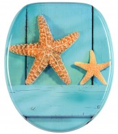 WC-Sitz mit Absenkautomatik Starfish