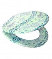 WC-Sitz Mosaic World Green